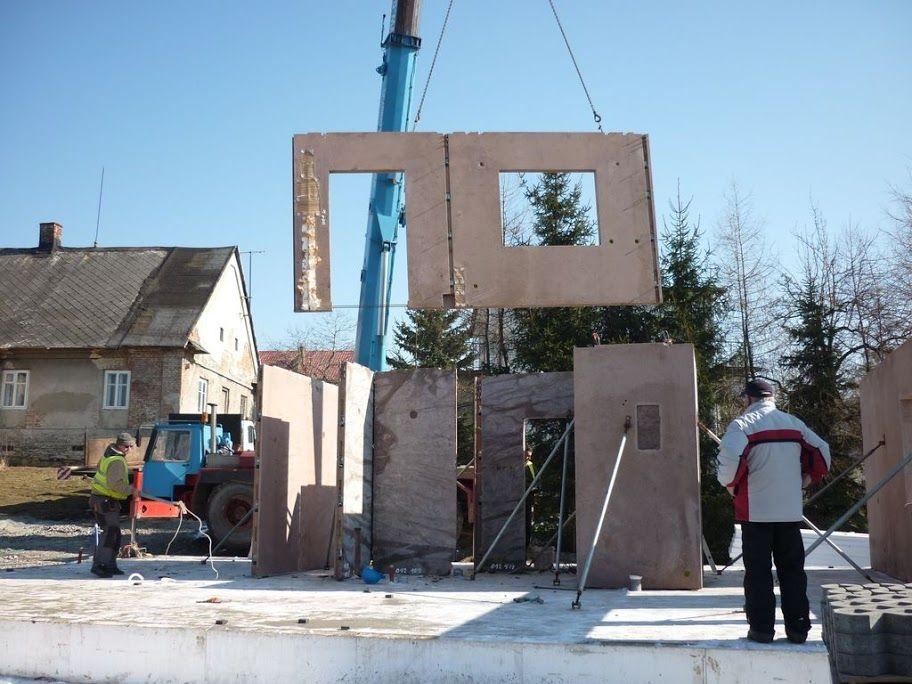 Technologie levných montovaných domů Abakon